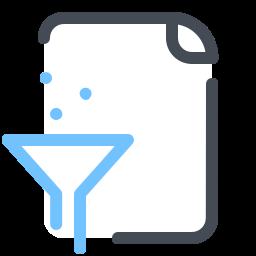 Gefilterte Datei icon