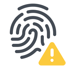 Fingerprint Error icon