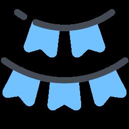 Flag Garland icon