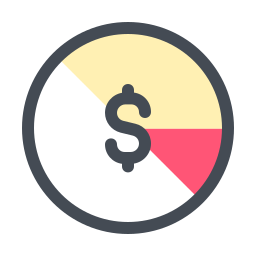 Stock accounting icon