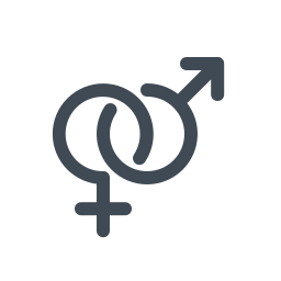 Female Male Symbol icon