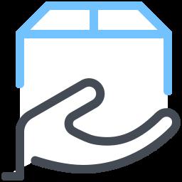 Hand Box icon