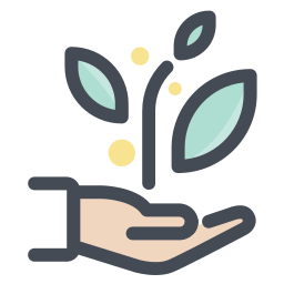 Einpflanzen per Hand icon