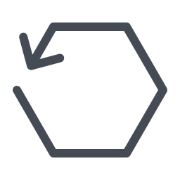 Hexagon Reload icon