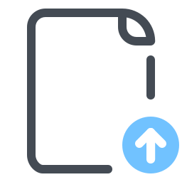 Import File icon