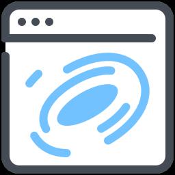 Black Hole Browser Marketing Network Optimization Web Webpage icon