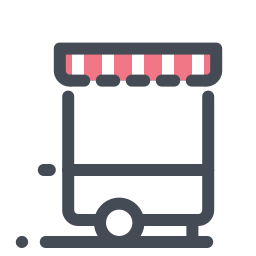 Kiosk on Wheels icon