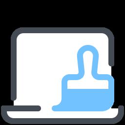 Czyszczenie laptopa icon