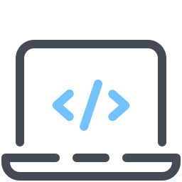 Laptop Coding icon