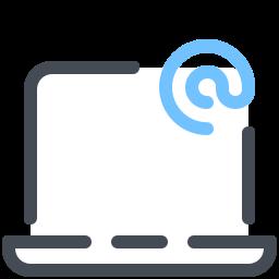 ラップトップ電子メール icon