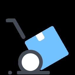 Тележка для тяжестей icon