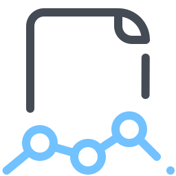 Archivo Linechart icon