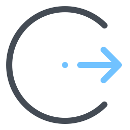 Login Rounded Right icon