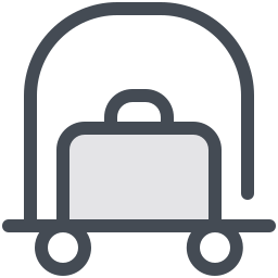 Luggage Trolley icon