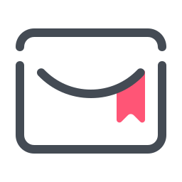 Markierte E-Mail icon