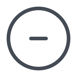 Minus Sign icon