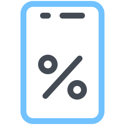 Mobile Shop Sale icon