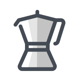 Cafetera italiana icon