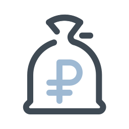 Money Bag Ruble icon