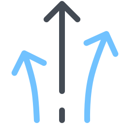 Multiple Directions icon