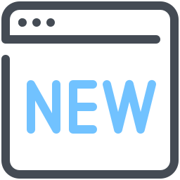 New Webpage icon