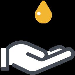 Massaggio con olio icon