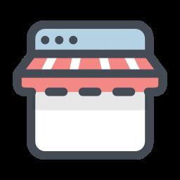 网上商店 icon