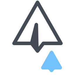 Paper Plane Messages icon