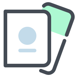 Passport and Tickets icon