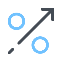Percentage Growth icon
