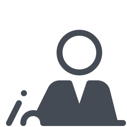 Person Working With Papers icon
