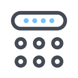 Pincode Keyboard icon
