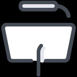Podium With Lamp icon