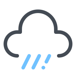 Cloud With Rain icon