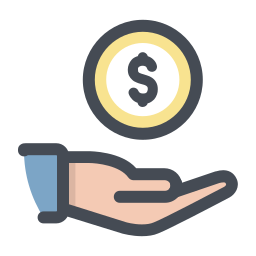 Receive Cash icon
