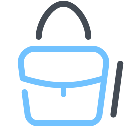 赤いハンドバッグ icon