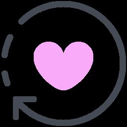 Refresh Love icon