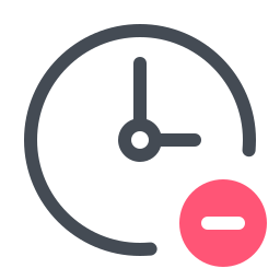 Remove Clock icon