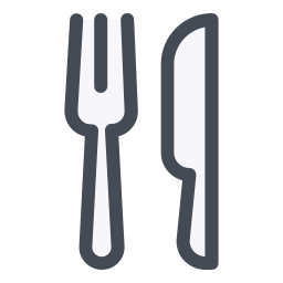 Fork and Knife Crossed icon