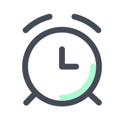 Clock Icons In Pastel Style For Graphic Design And User Interfaces