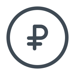 Rouble icon