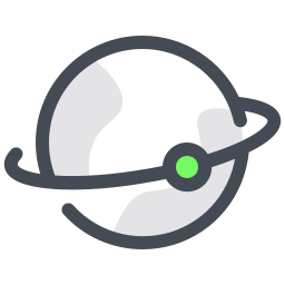 Satellite in Orbit icon