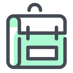 School Backpack icon