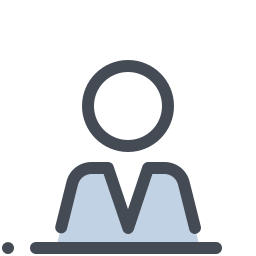 Schoolboy at a Desk icon