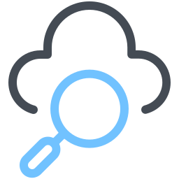 Search in Cloud icon