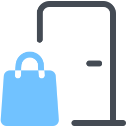 Shipping To Door icon