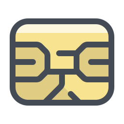 SIM Card Chip icon