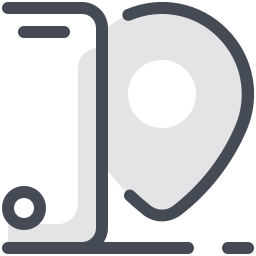 Smartphone Tracking icon
