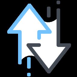Стрелки сортировки icon
