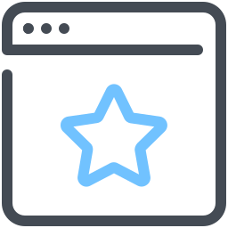 Starred Webpage icon